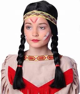 Indianer Kostüm Mädchen : indianer indianerin per cke kinder western m dchen karneval fasching ~ Frokenaadalensverden.com Haus und Dekorationen