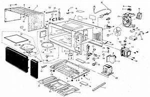 Panasonic Nn5408a Countertop Microwave Parts