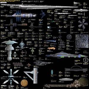 TTANCM.COM » Sci-Fi Starship Size Comparison Chart