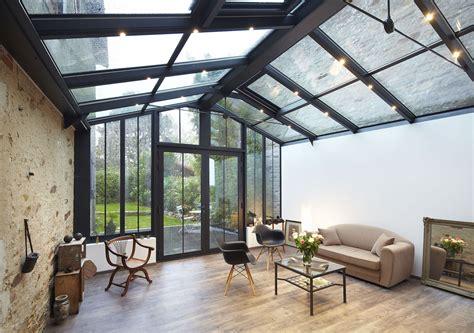 veranda extension cuisine véranda atelier le charme de l 39 atelier d 39 artiste fillonneau