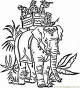 India Coloring Pages Elephant Indian Colouring Carrying Printable Drawing Elephants Hindu Drawings Coloringpages101 Blank Head Swacha Bharat Colour Clipart Pattern sketch template