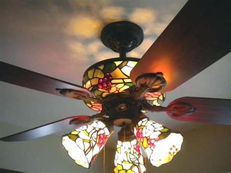tiffany style ceiling fans with lights tiffany ceiling fans antique bronze 3 light metal crystal