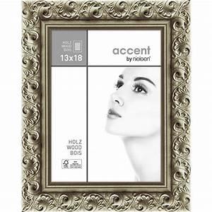 Bilderrahmen Silber 13x18 : accent holz bilderrahmen arabesque 13x18 cm silber ~ Eleganceandgraceweddings.com Haus und Dekorationen