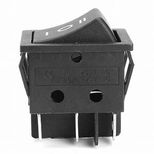 6 Pin 3 Positions T105  55 Forward Reverse Switch For 12v