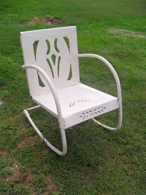 12 best images about metal patio chairs vintage on
