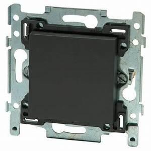 Cache Plaque électrique : cache trou niko anthracite plaques de finition ~ Premium-room.com Idées de Décoration