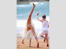 Miranda Kerr's Organic Underwear Upskirt GCeleb