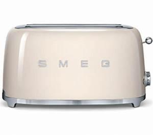 Smeg Toaster Creme : buy smeg tsf02cruk 4 slice toaster cream free delivery ~ A.2002-acura-tl-radio.info Haus und Dekorationen