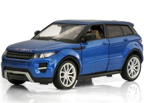 White / Blue / Red / Green Kids Diecast Range Rover Evoque