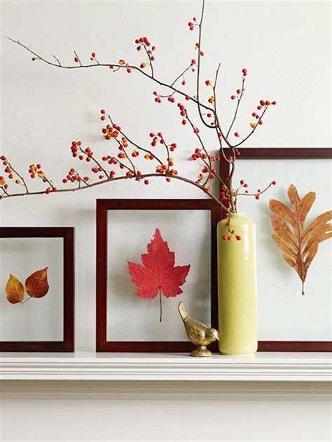 framed leaves wall 8 creative diy project ideas for using fall leaves as 3512