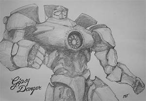 The gallery for --> Pacific Rim Jaeger Gypsy Danger Drawing