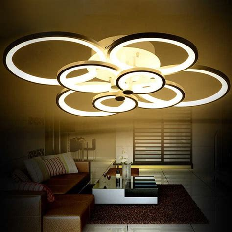Led Lights For Room Where To Buy by Aliexpress Buy Dimmable Modern Led Chandelier Lights