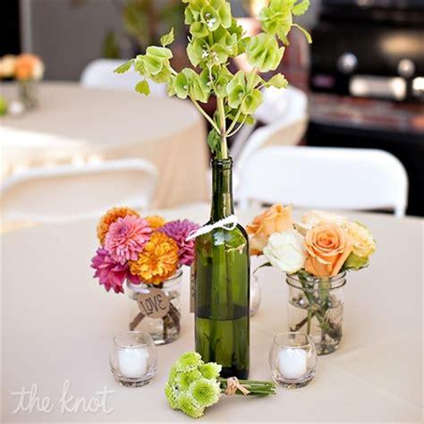diy wine bottle centerpieces for your wedding world