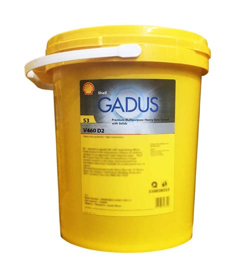 SHELL GADUS S3 V460D 2 (18KG) - Durban Lubricants