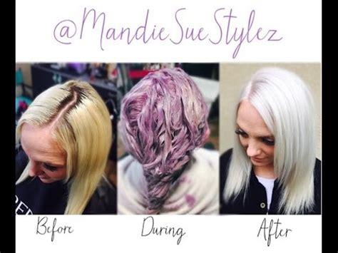 blonde lavender hair  platinum blonde root touch