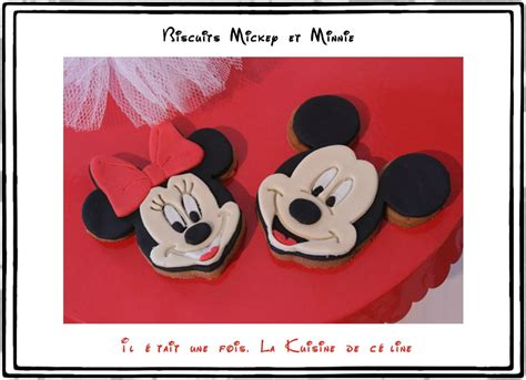 mickey pate a sucre biscuits d 233 cor 233 s minnie et mickey il 233 tait une fois