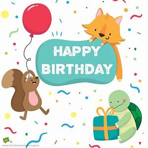 Cute Birthday Cards For Kids | www.imgkid.com - The Image ...