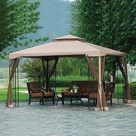 big lots gazebo canopy garden winds replacement canopy top and side mosquito