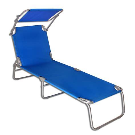 chaise plage transat transat avec pare soleil plage chaise longue de