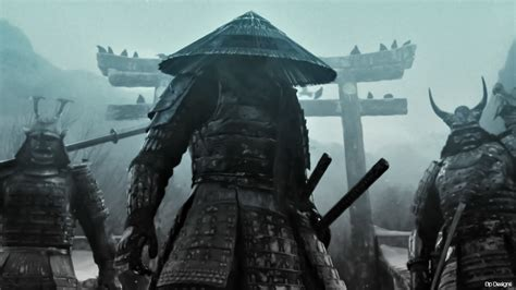 dark samurai hd wallpaper background image