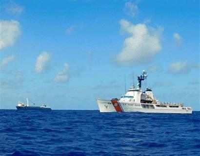 Ship Cargo Guard Coast Rescues Alta Crew
