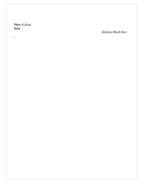 Resume of Bedanta