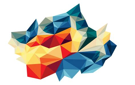 Abstract Geometric Shapes Transparent Background by High Resolution Abstract Triangles Png Icon 46462 Free