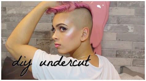 diy undercut hacks tips diy haircut youtube