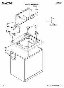 Maytag Residential Washer Parts