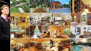top 15 most expensive celebrity homes mansions home and With bill gates house pics interior