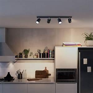 Philips My Living : philips myliving kosipo spot zwart 4 spots ~ Watch28wear.com Haus und Dekorationen