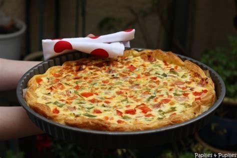 recette cuisine basque recette de tarte aux poivrons