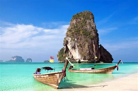 Railay Beach Travel Costs And Prices Phra Nang Beach