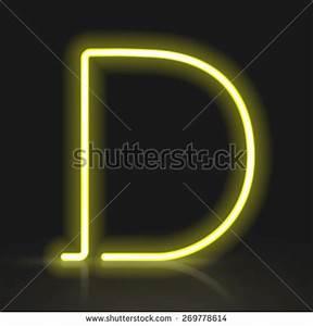 Neon Alphabet Stock s &
