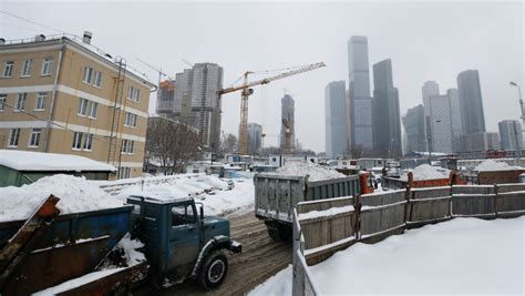 heres     months worth  snow  moscow