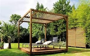 Holz Pergola Selber Bauen : terrassenuberdachung freistehend holz selber bauen ~ Lizthompson.info Haus und Dekorationen