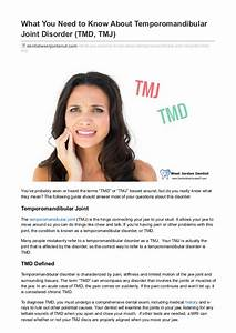 What You Need To Know About Temporomandibular Joint