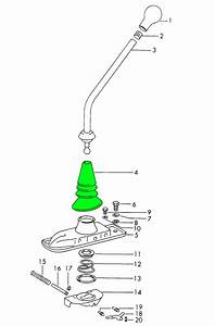 Porsche 911 914 912 356 Shift Linkage Boot Inner