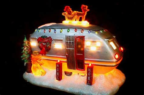 airstream christmas ornament holidays pinterest