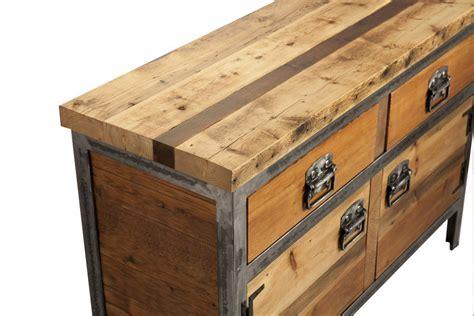 sideboard industrial look saxon industrial style dresser sideboard by swinging