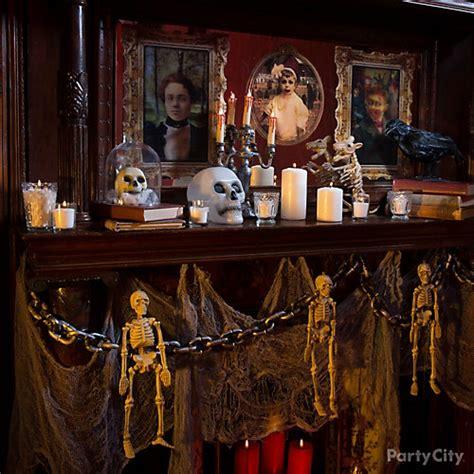 Macabre Mantel Decorating Idea  Party City