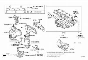 Scion Xb Engine Intake Manifold  Engine Component That