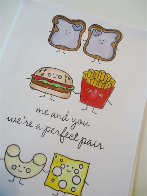 love  greeting card   perfect pair funny