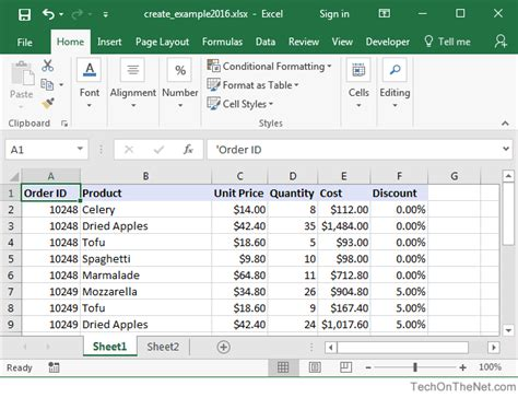 pivot table in excel 2016 ms excel 2016 how to create a pivot table