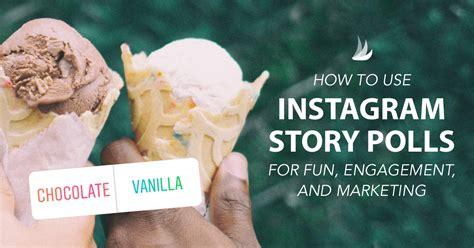 Permalink to Polls On Instagram Story Ideas
