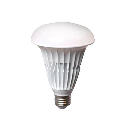 ecosmart light bulbs ecosmart br30 9 watt 65w soft white 2700k led flood