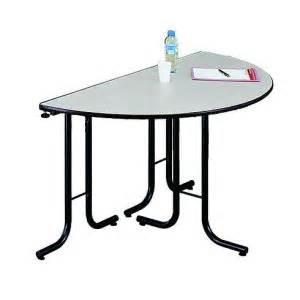 Table Demi Lune Pliante : table pliante collectivite comparer 126 offres ~ Dode.kayakingforconservation.com Idées de Décoration