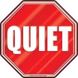 Quiet Signs Clip Art (52+)