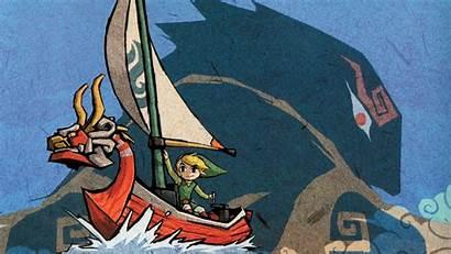 Waker Wind Zelda Legend Wallpapers Desktop 4k