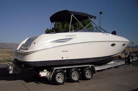 cabin boats for sale 1998 used cobalt 293293 cuddy cabin boat for sale